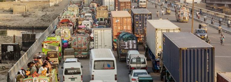 Urban Transportation Problems in Pakistan